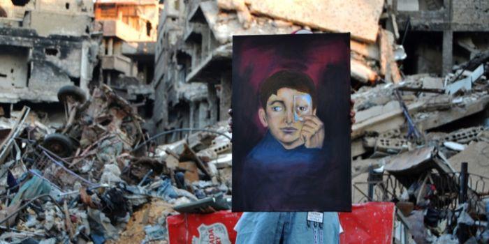 De l'art pour la Syrie
