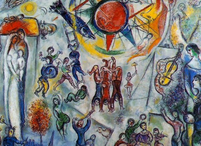 La vie de Marc Chagall