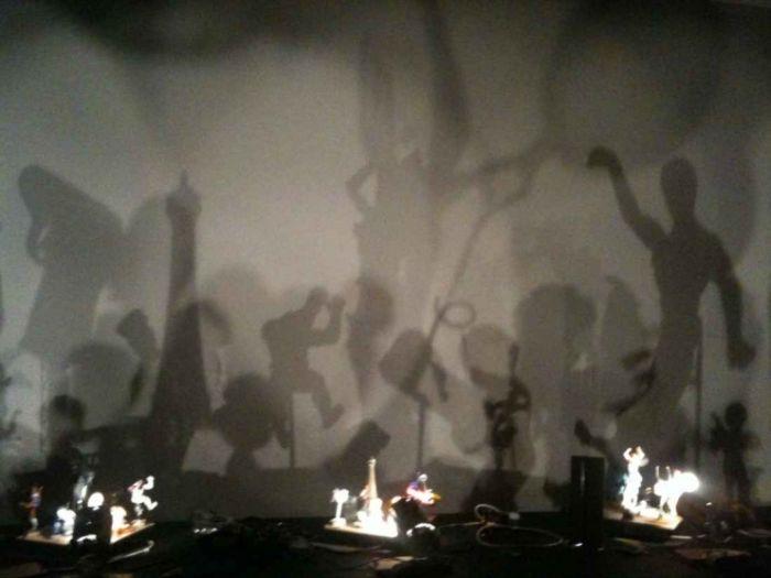 Jeux d'ombre et de lumière !