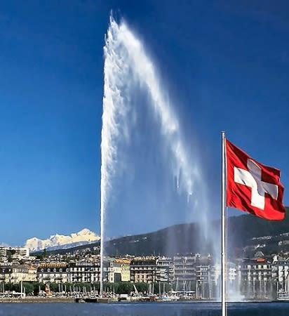 Je révise mon suisse #1 - Le Jet d'eau de Genève