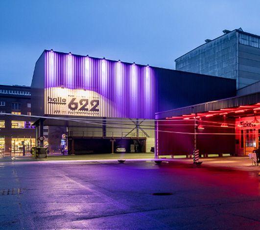 Nouveau « halle 622 » – l'événementiel XL à Zurich