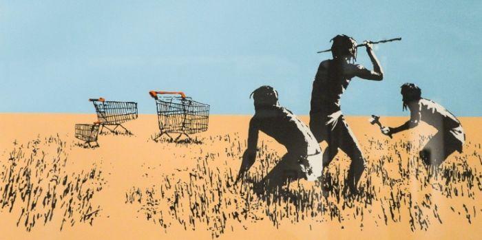 Une oeuvre de Banksy volée au Canada