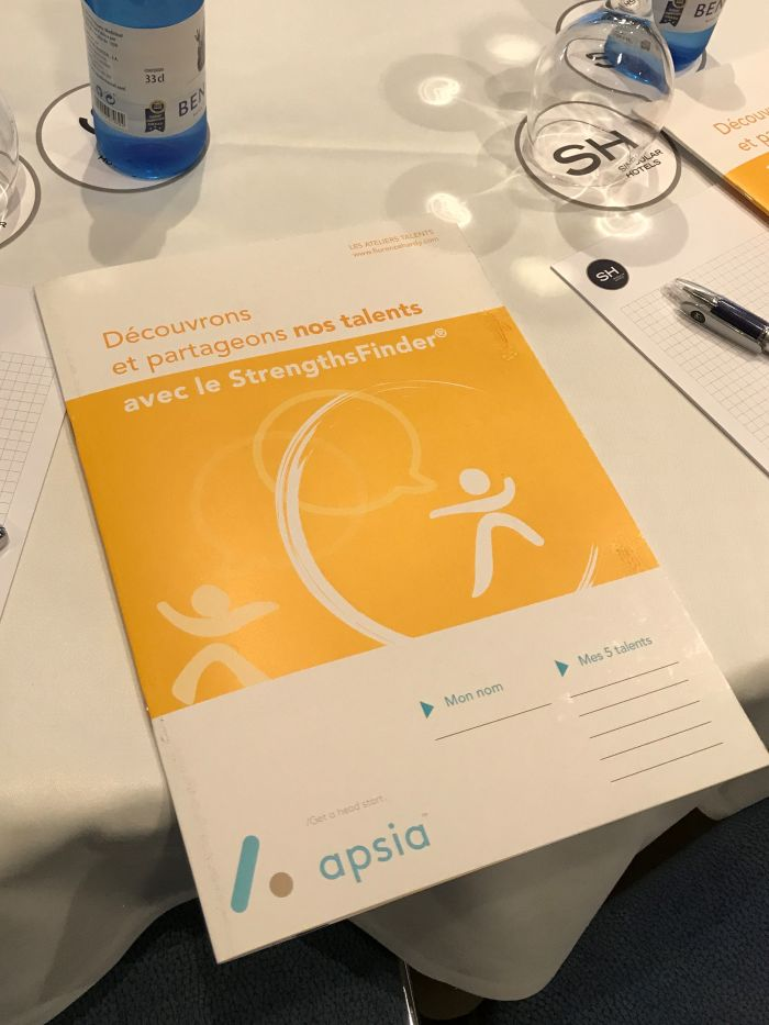 La gestion des talents chez Apsia avec StrengthsFinder