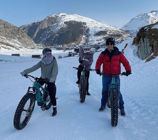 Fatbike électrique : ils ont testé ce VTT sur neige pour vous et ont adoré !