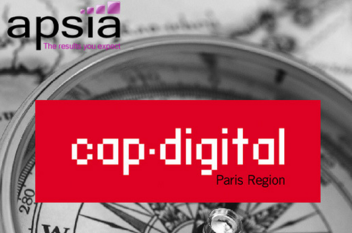 Cap Digital et Apsia, ensemble vers la transformation numérique