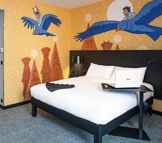 Ouverture ibis Styles à Genève Carouge : un hommage aux dessinateurs locaux !