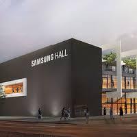 Samsung parraine un nouveau hall événementiel en Suisse