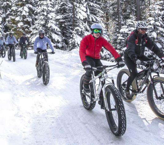Nouvelle activité incentive insolite en hiver : le fatbike