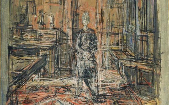 The Artist's mother d'Alberto Giacometti