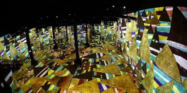 Gustave Klimt s'ouvre à l'atelier des lumières de Paris