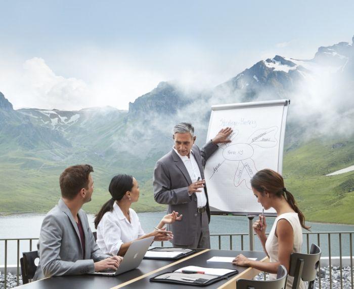 8 raisons pour organiser un séminaire de direction en Suisse.