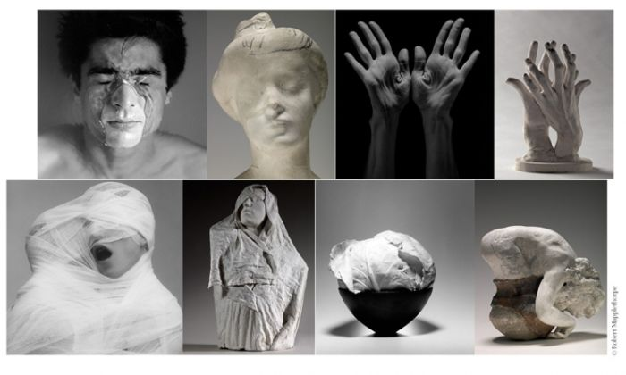 Mapplethorpe dialogue avec les sculptures de Rodin !