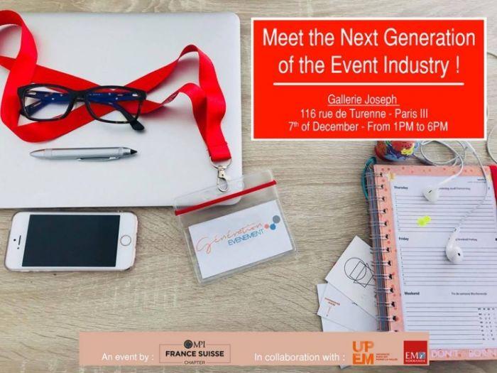 Génération Événement - le forum dédié aux futurs leaders de l'événementiel