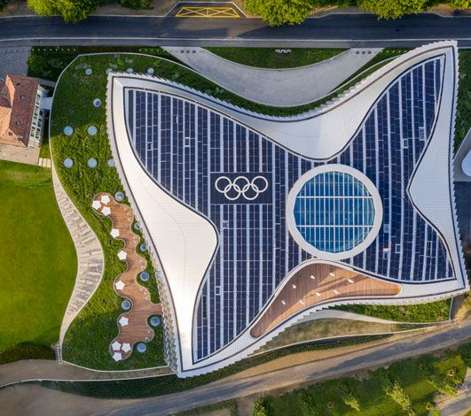 La Suisse, durable par nature #1 – 3 certifications exigeantes pour la nouvelle Maison Olympique à Lausanne
