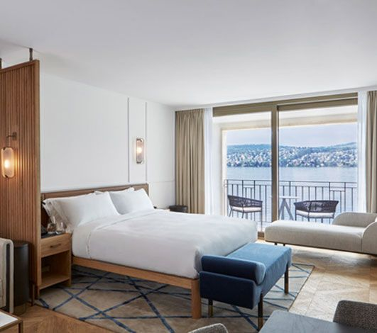 Alex, Lake Zürich : la nouvelle adresse exclusive des hôtels Campbell Gray