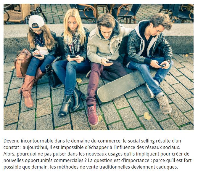 L'importance du social selling par Fenchweb