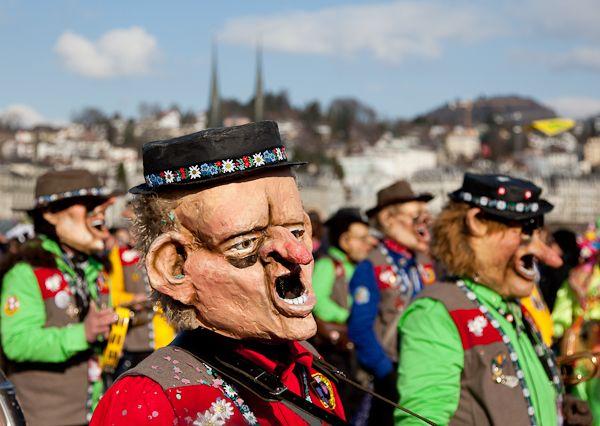 Carnaval Lucerne cortège