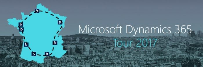 Dynamics 365 fait son Tour de France !