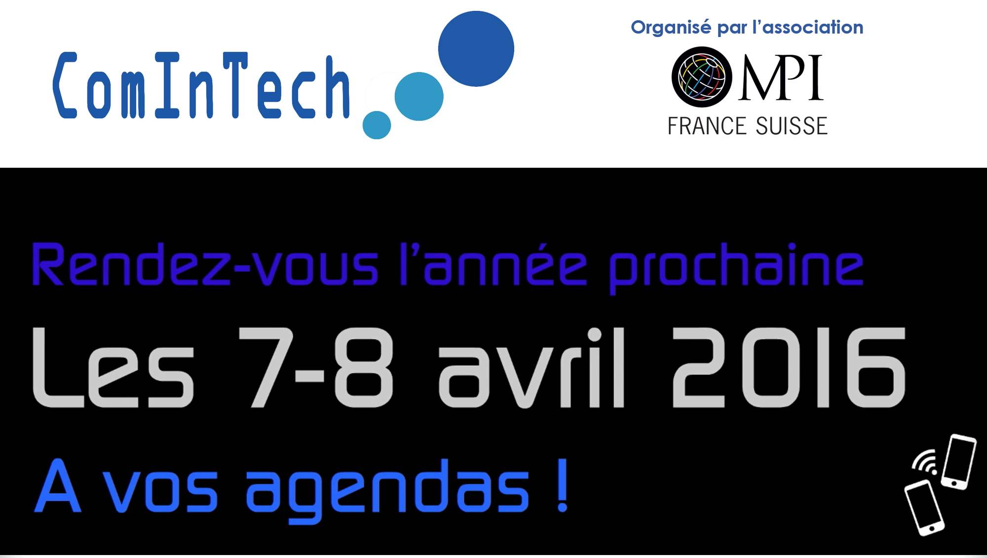 Save the date ComInTech 2016