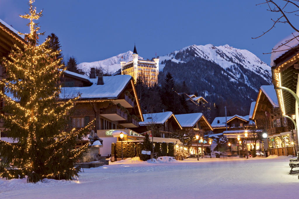 Gstaad hiver