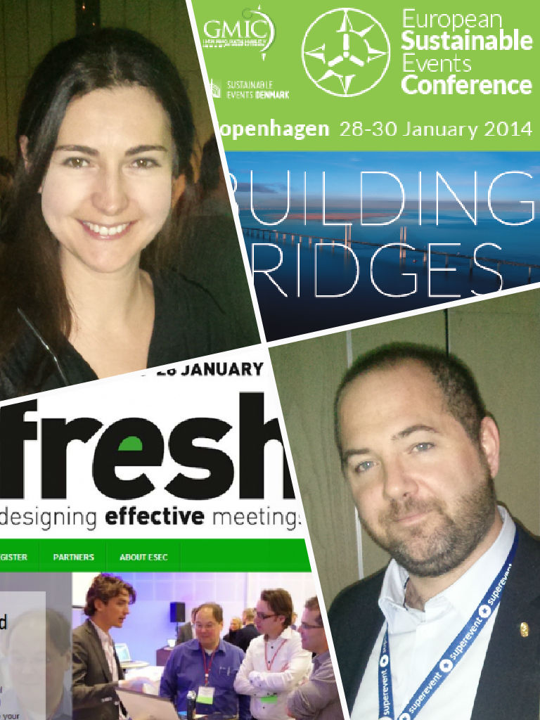 Julien Carlier & Béatrice Eastham - Fresh 2014 & ESEC 2014 - Cophenhaguen