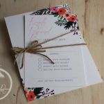 Rustic Garden Wedding Invitation