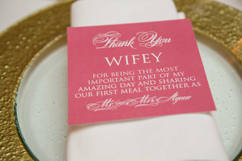 Placecards - Carissa's Wedding