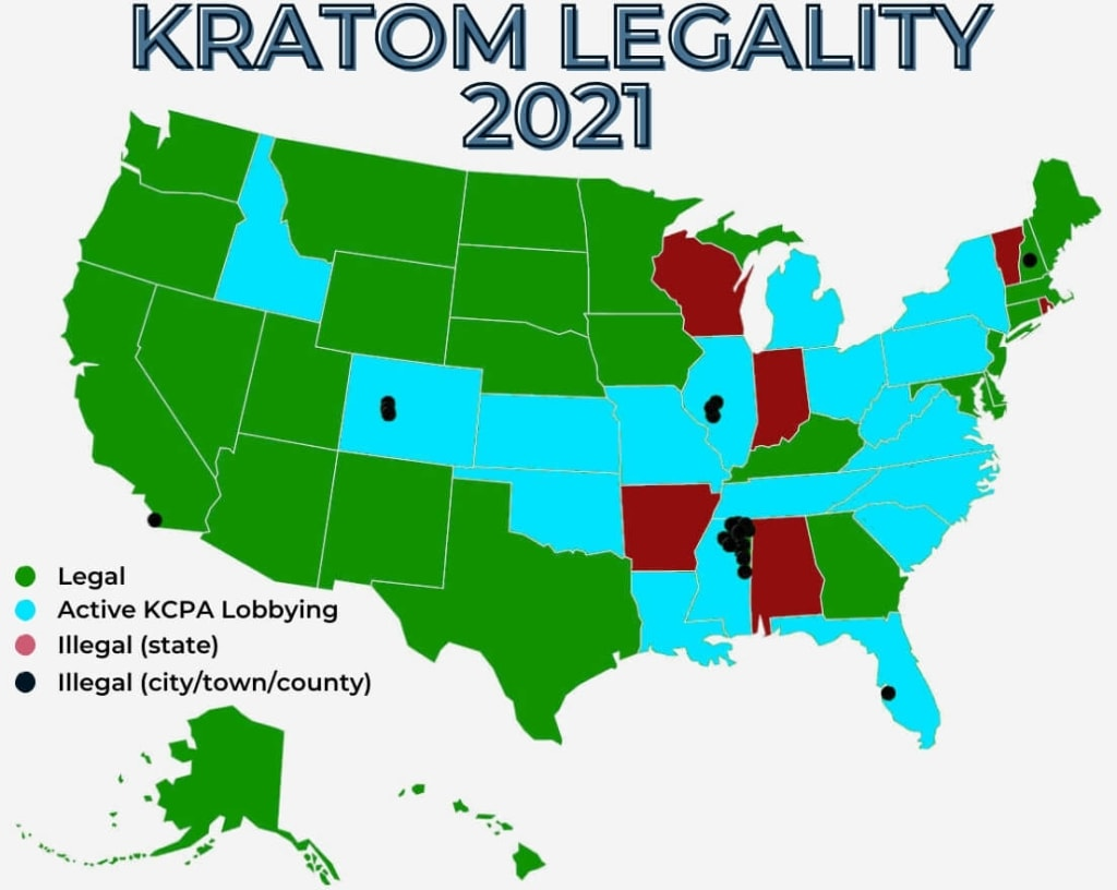 Is Kratom Legal In 2021? Legality Map &Amp; More