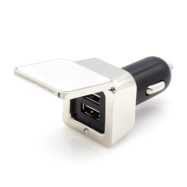 Car Charger - Metal Cube
