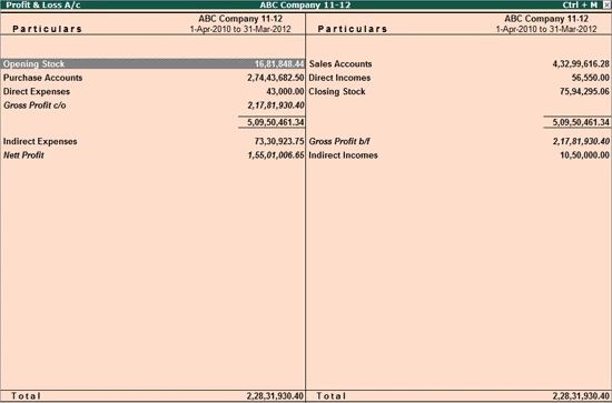Tally.ERP9 screenshot 1