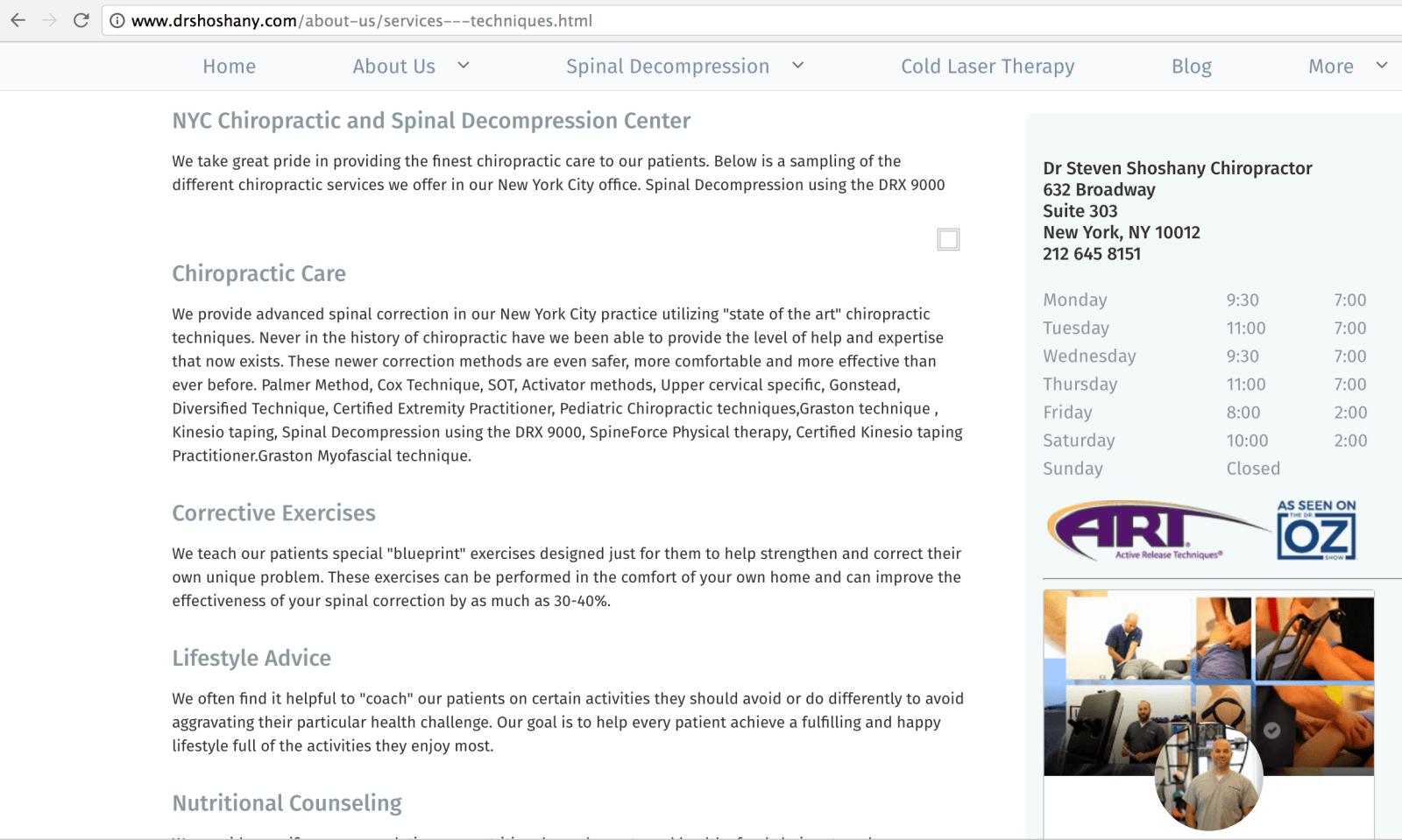 Dr. Shoshany's Site