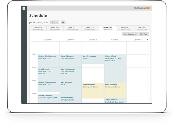 Lighthouse Scheduler