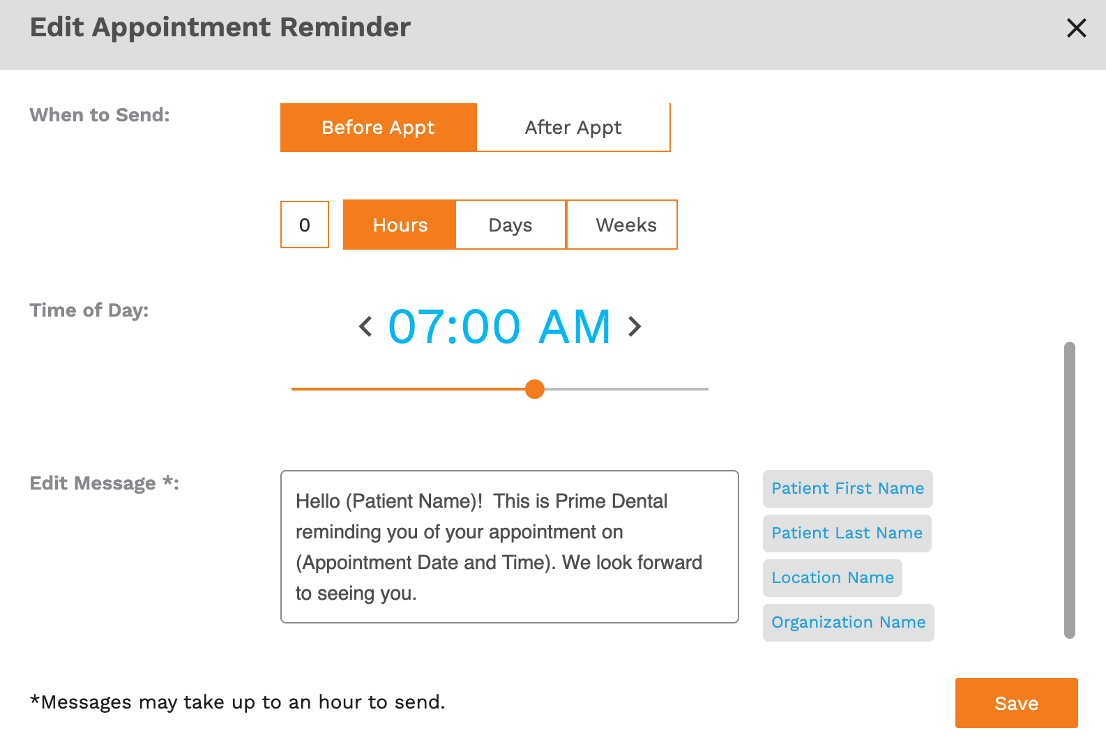 Adit Appointment Reminder