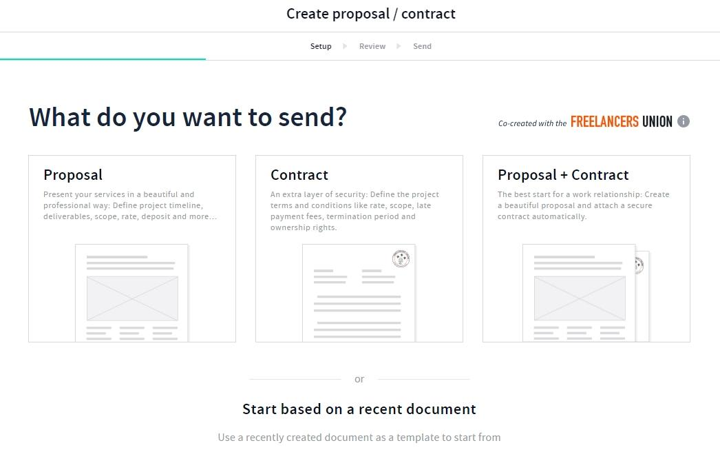 AND CO Review Creating Proposals & Contracts