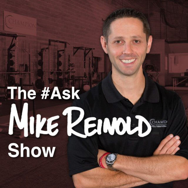 Ask Mike Reinold Show Logo