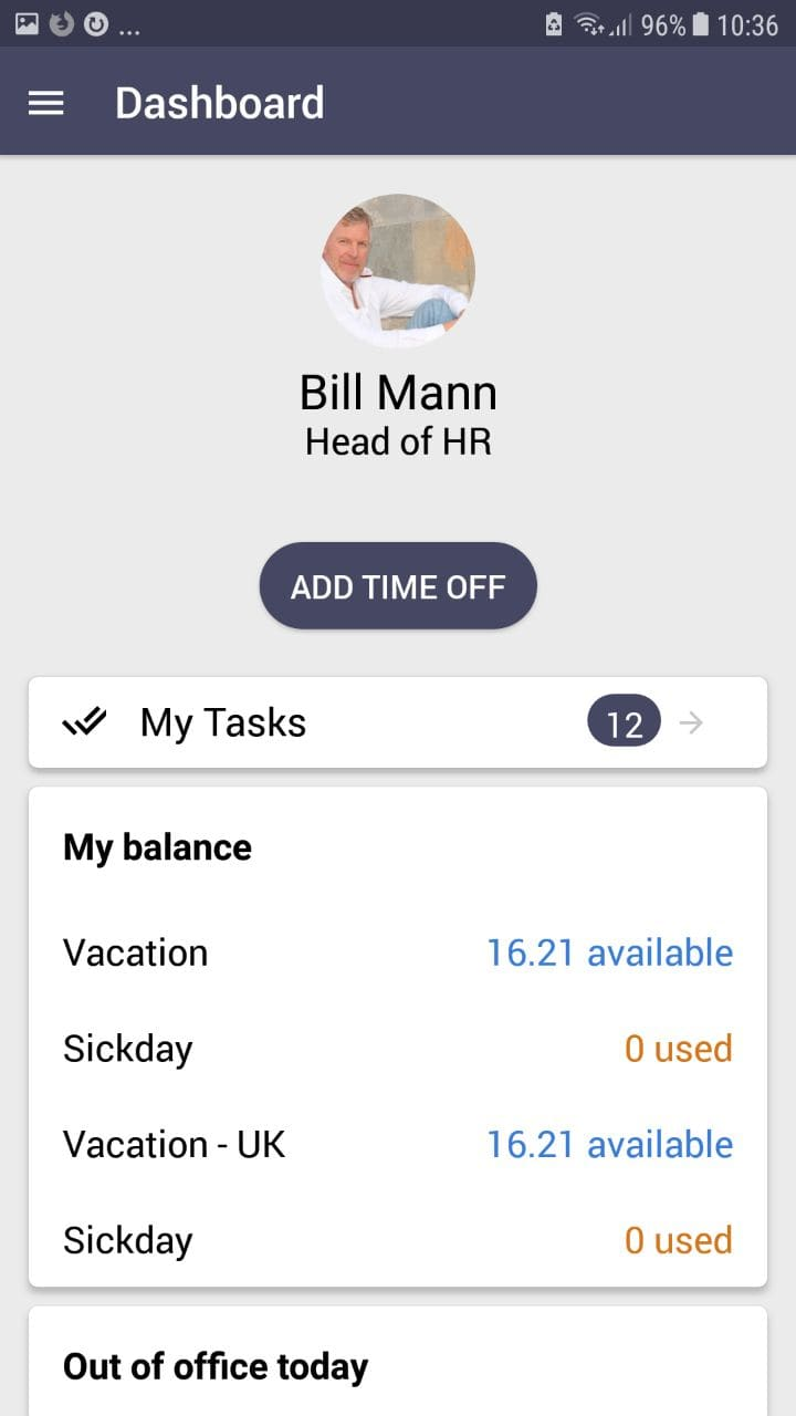 CakeHR Android App