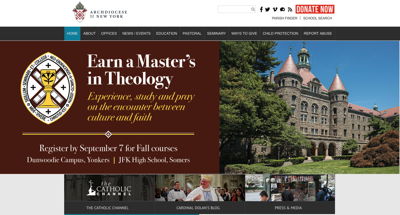 eCatholic archdiocese new york