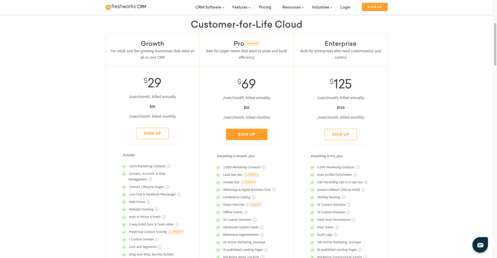 Freshworks CRM Review, Pricing & Features   SoftwarePundit