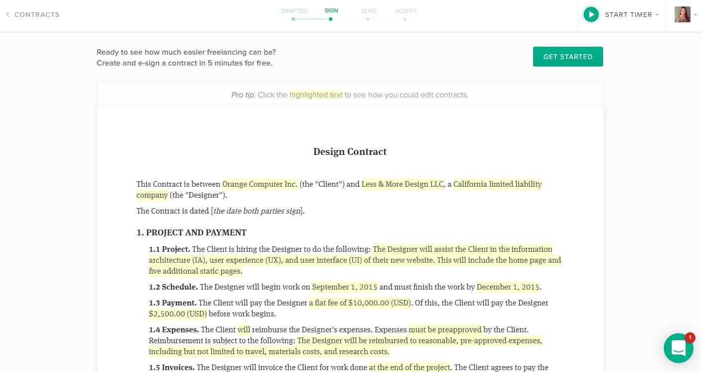 Hello Bonsai Review Contract Example