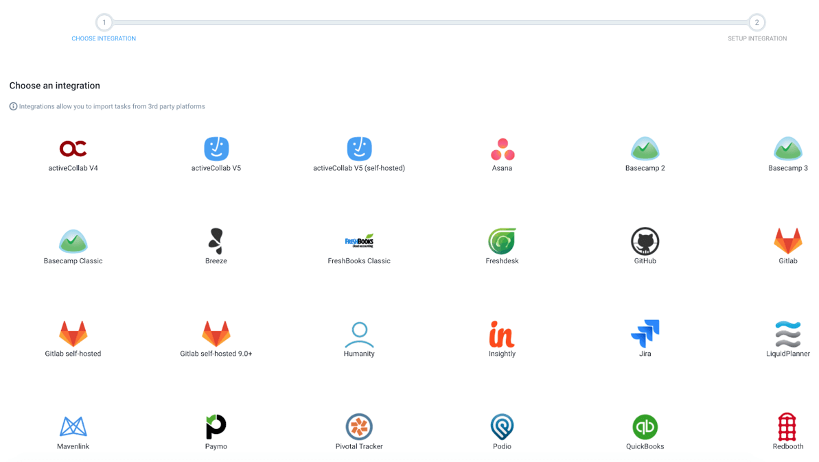 Hubstaff Review Supported Integrations