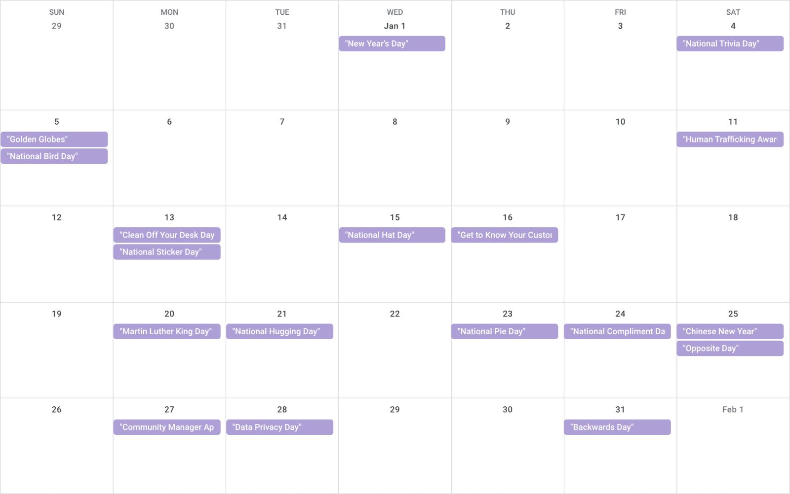 National Best Friends Day 2020.Social Media Holiday Calendar 2020 Downloadable