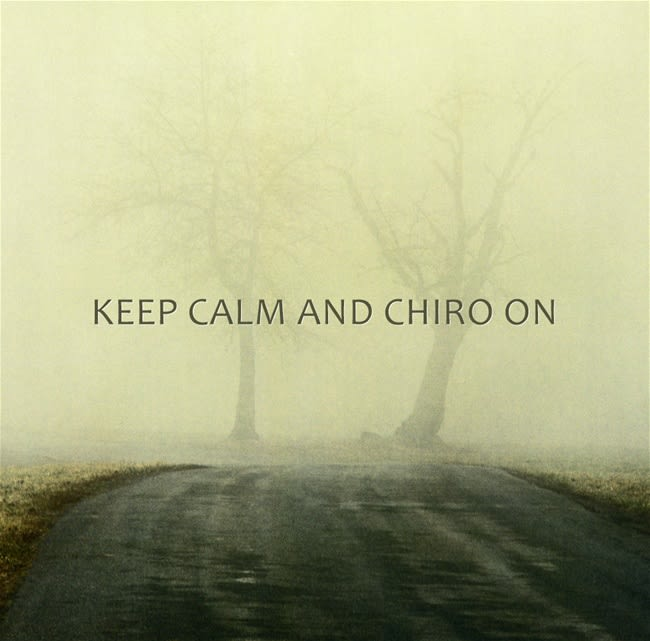 Keep Calm and Chiro on