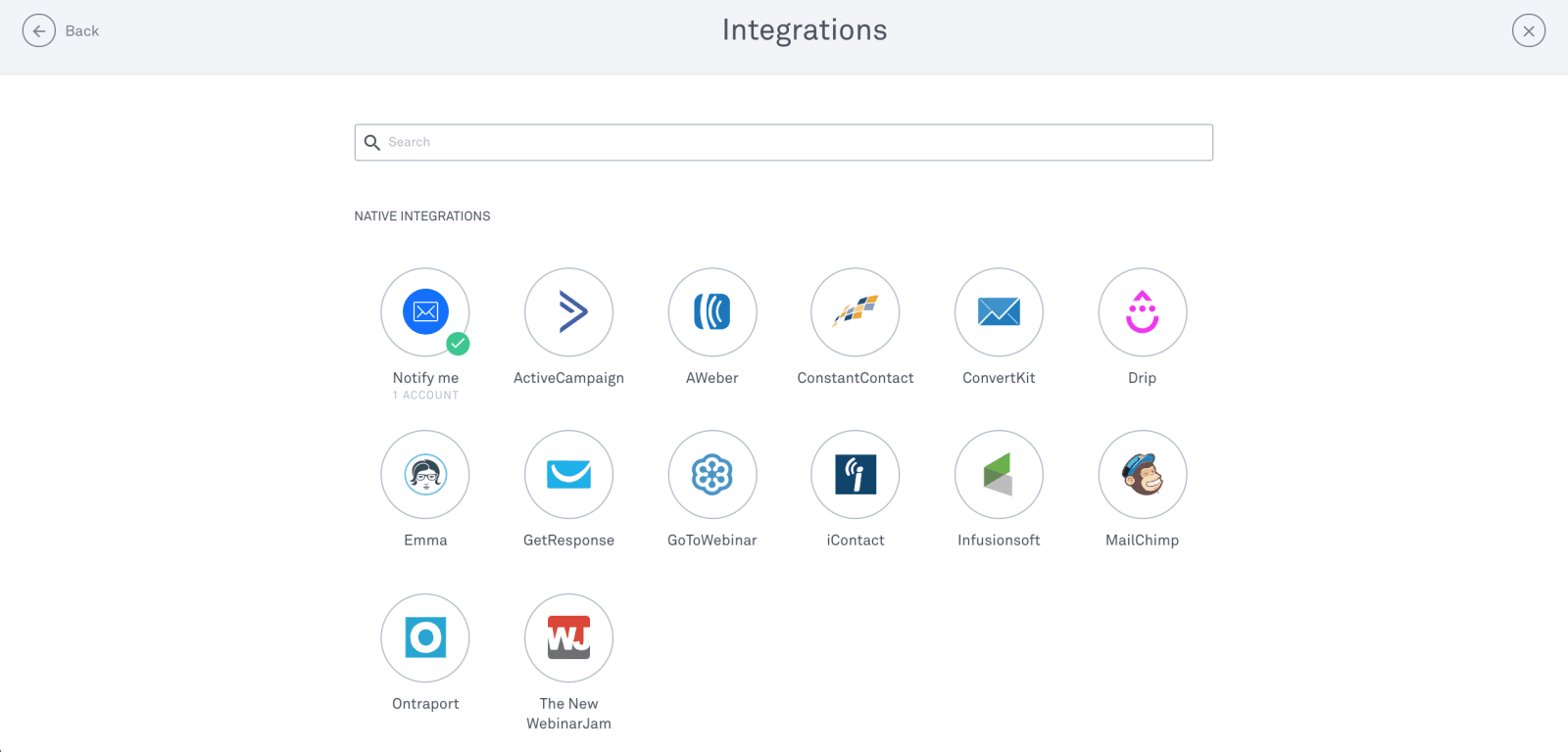 Leadpages Review Supported Integrations