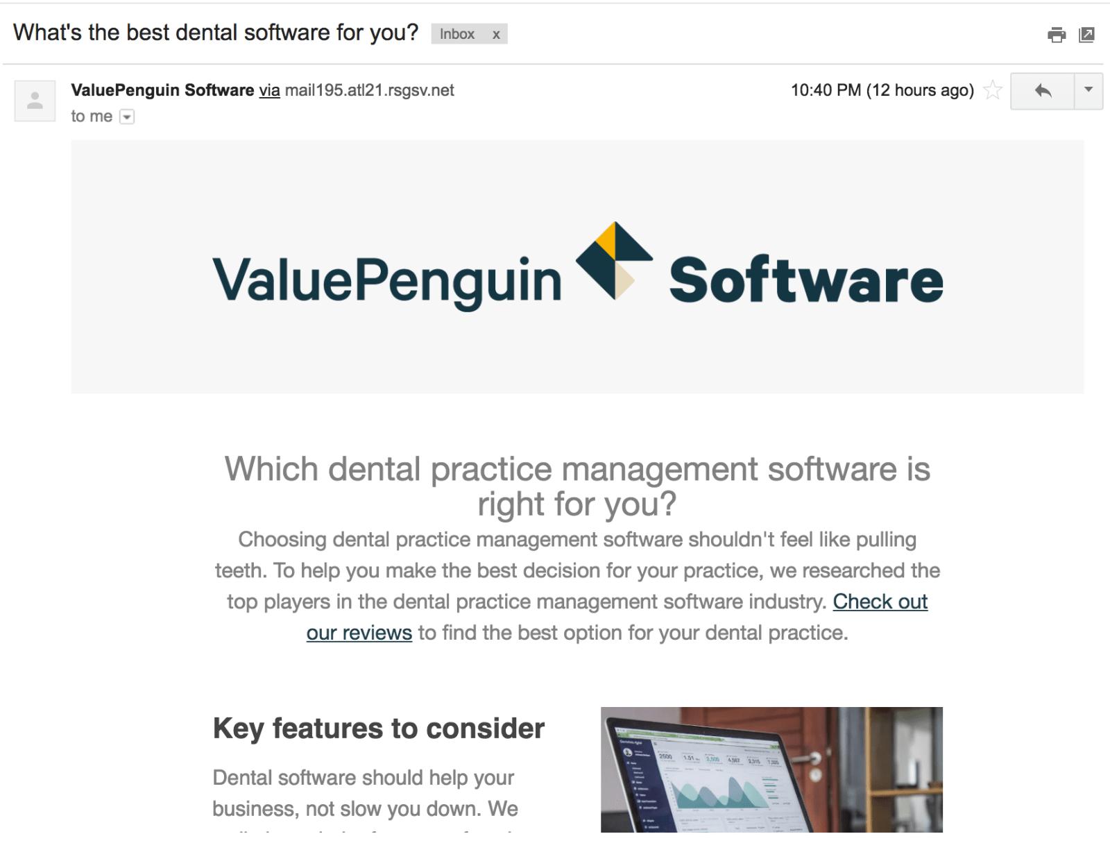 MailChimp Example Newsletter
