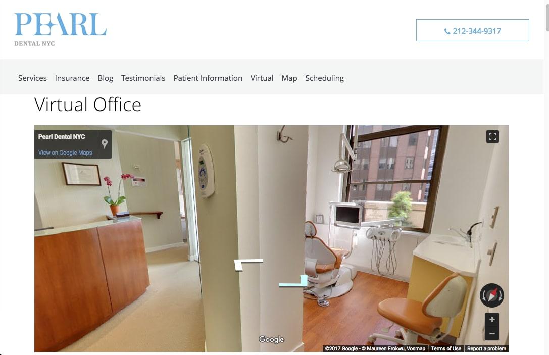 Pearl Dental NYC Virtual Office