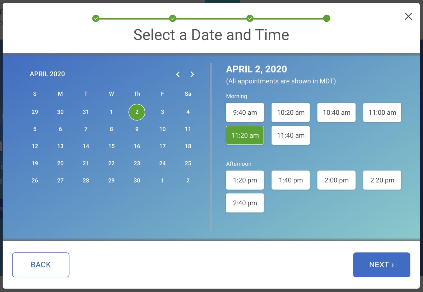simplifeye scheduling