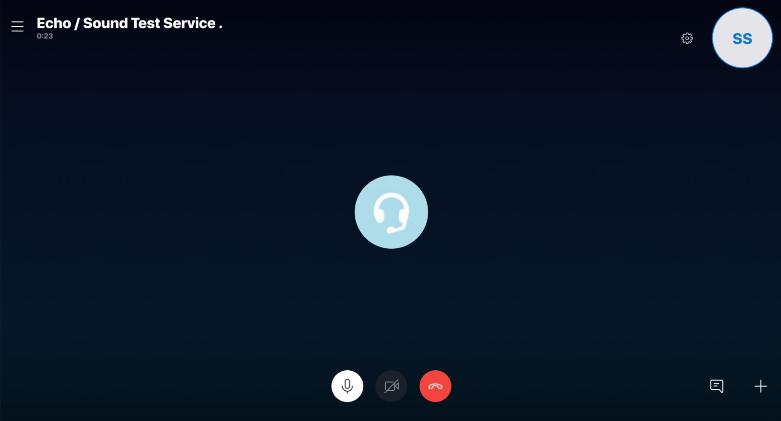 Skype Review Sound Test Service