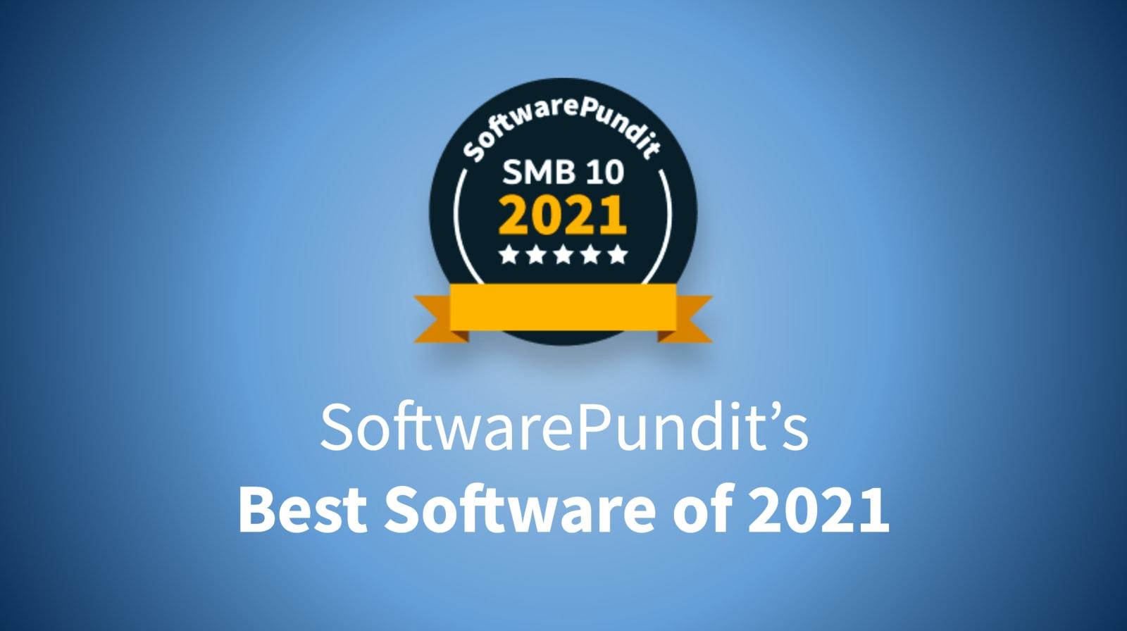 2021 SoftwarePundit SMB10 hero image