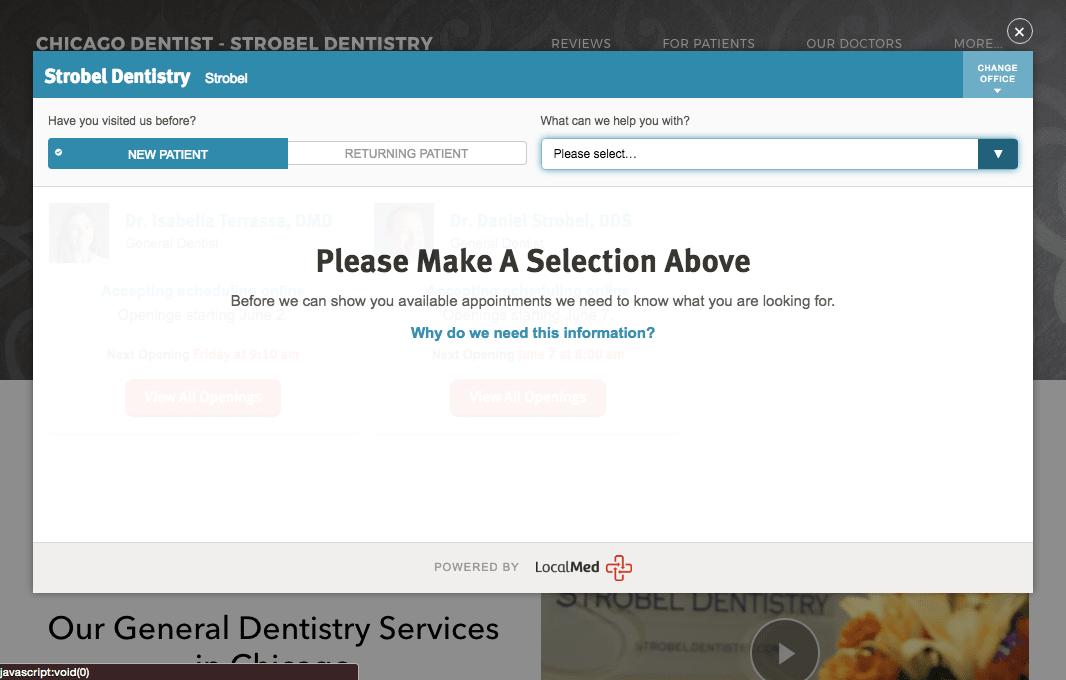 Strobel Dentistry LocalMed