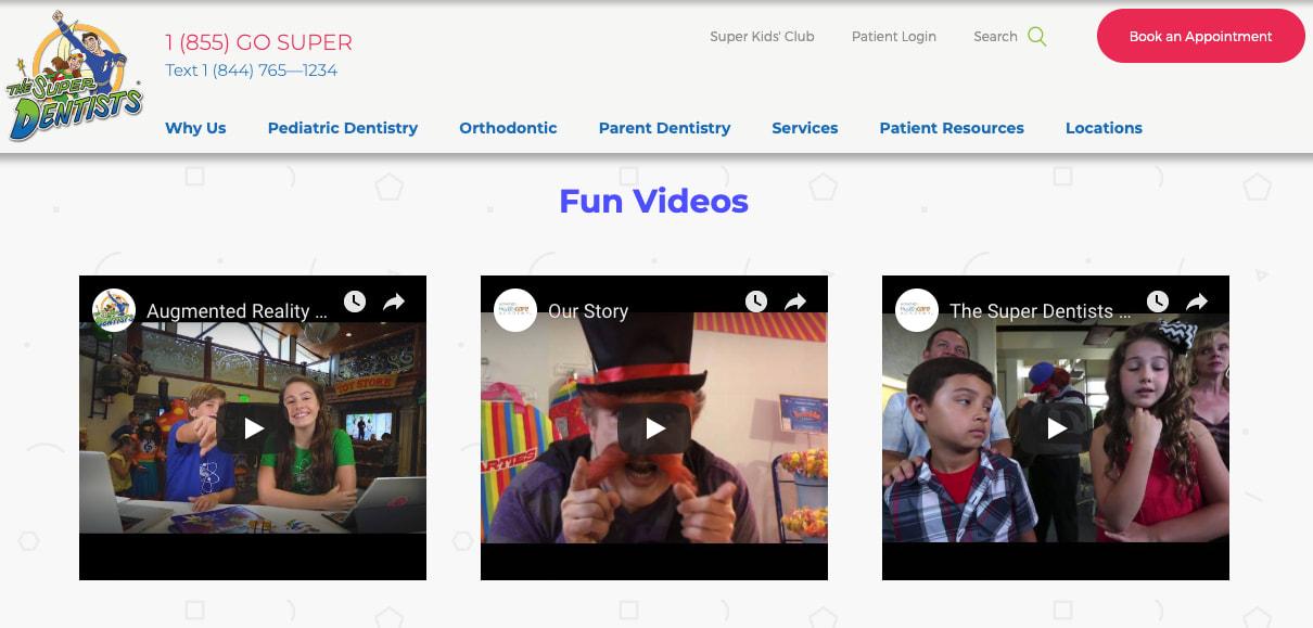 The Super Dentists fun videos